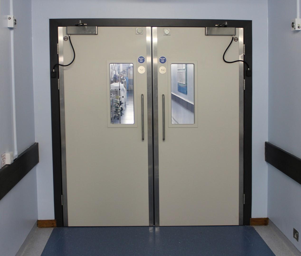 Steel reinforced Kydex fire door(1) (Custom)