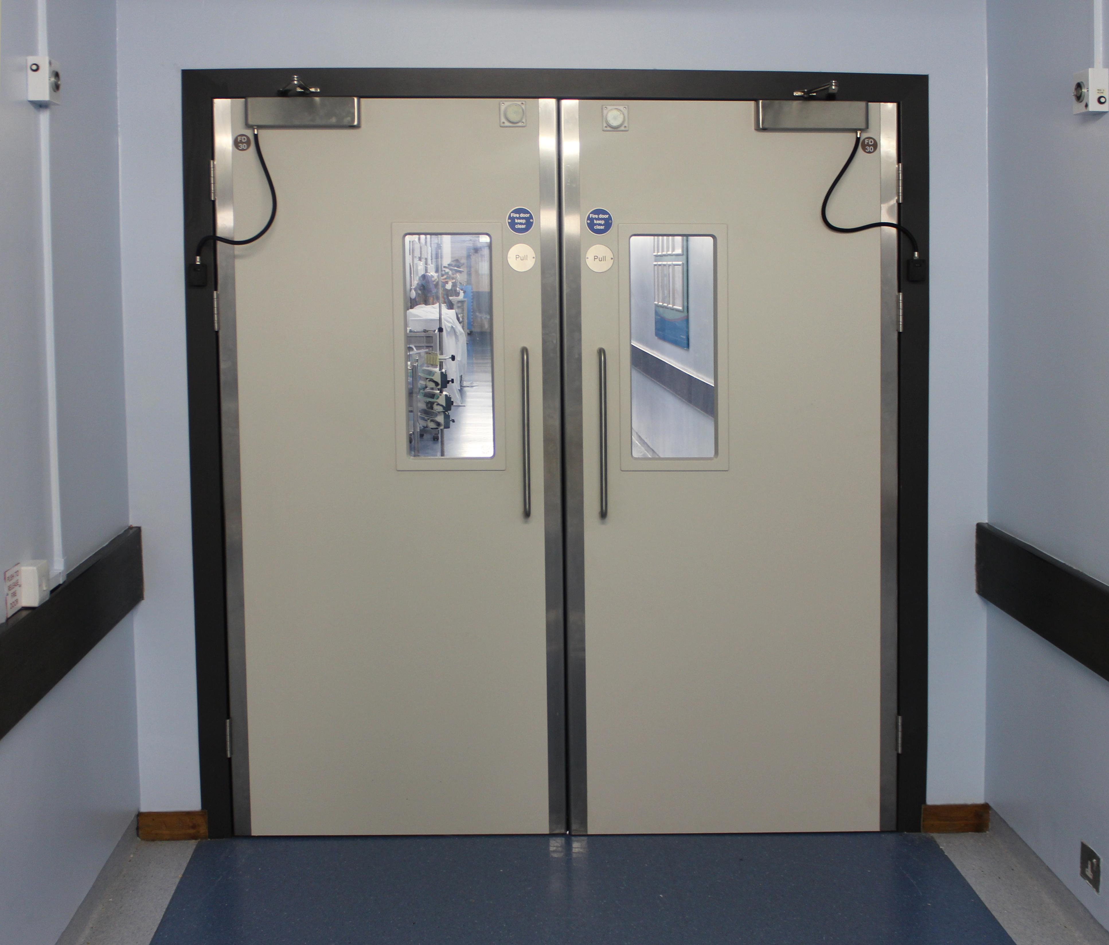 Steel reinforced Kydex fire door(1)