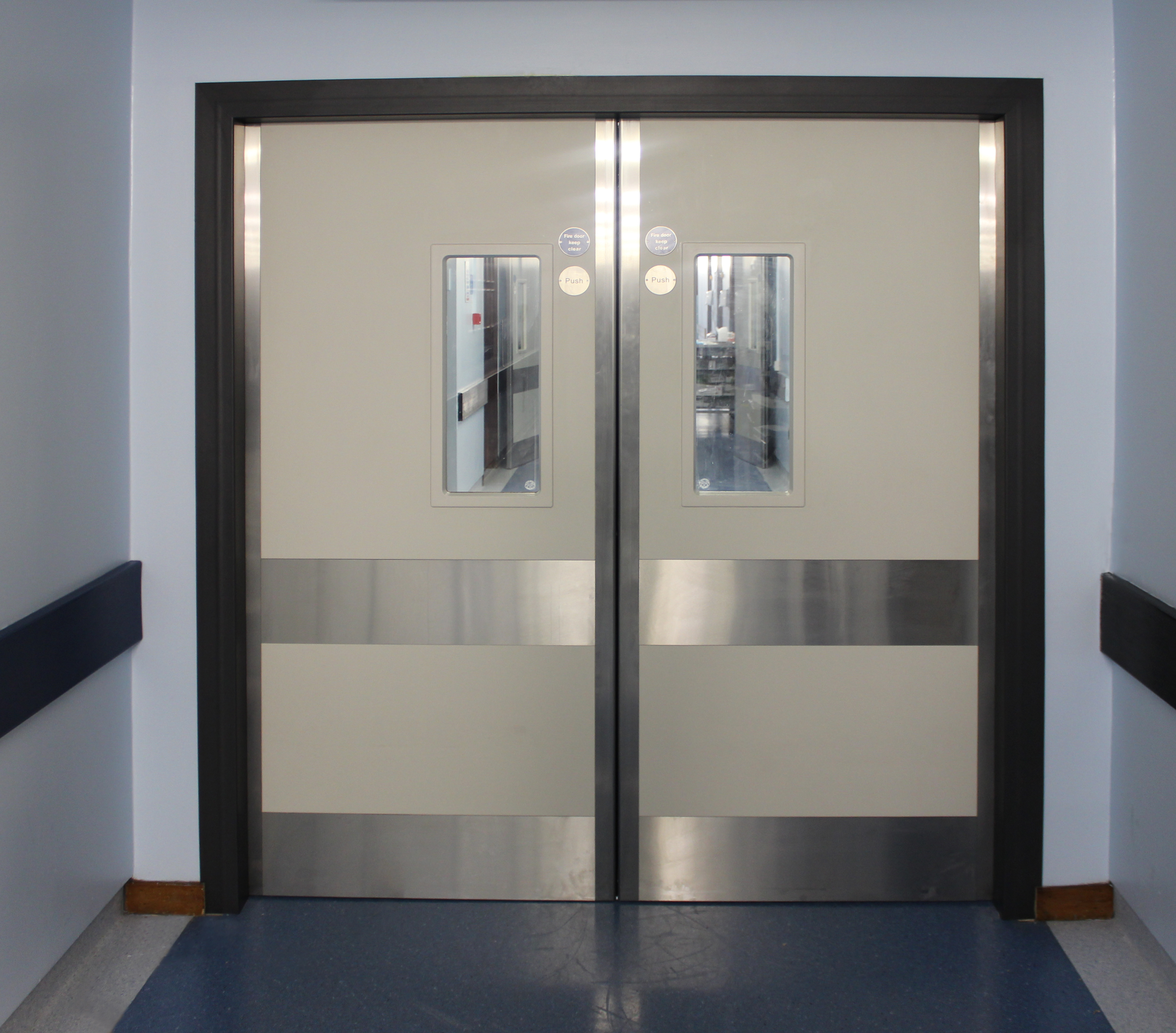 Steel reinforced Kydex fire door(2)